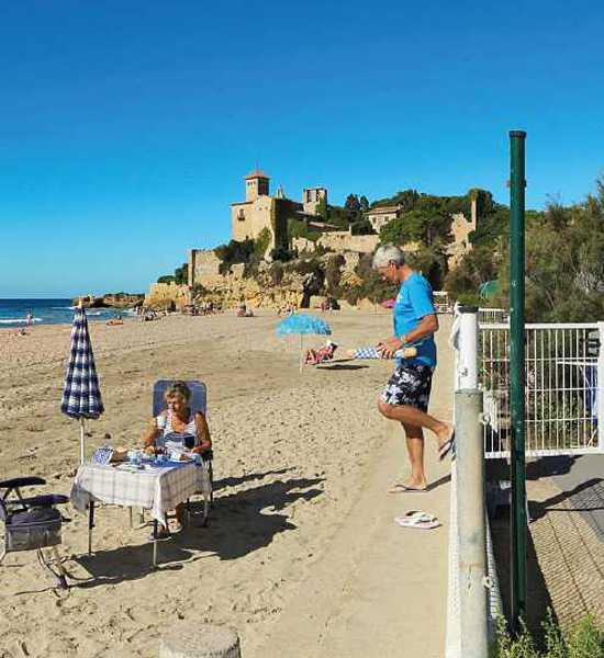 Tarragona Campsite Spain Camping Tamarit Beach Resort